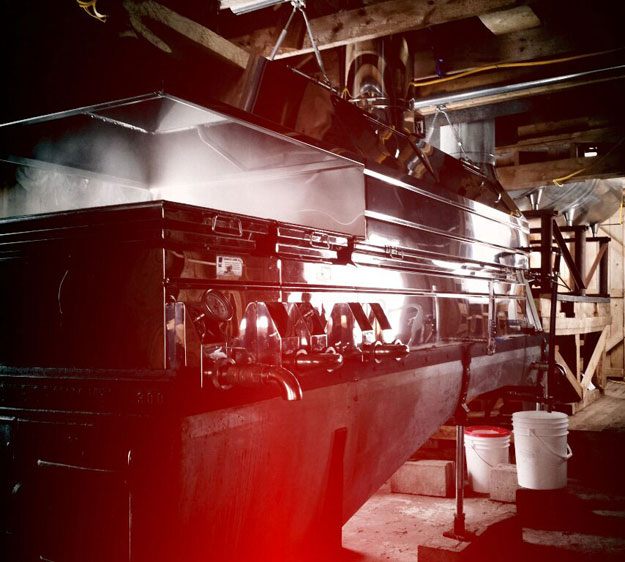 Maple Syrup Production Evaporator